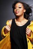 Schöner African-American girl.3. lizenzfreie stockfotos