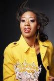 Schöner African-American girl.3. stockfoto