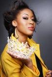 Schöner African-American girl.3. stockbilder