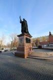 Schöner Alexander Garden nahe dem alten der Kreml-Winter, Moskau, Russland Lizenzfreie Stockbilder