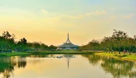 Schöner allgemeiner Parkland Suan Luang R 9 in Bangkok Thailand Lizenzfreies Stockbild