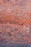 Schöner alter des Wand-roten Backsteins des roten Backsteins Beschaffenheitshintergrund Stockfoto