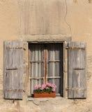 Schöner alter Fenster Nyon-Schweizer Lizenzfreie Stockbilder