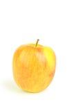 Schöner Apfel lokalisiert auf weißem Hintergrund Lizenzfreie Stockbilder
