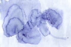 Schöner Aquarellhintergrund - Aquarellfarben auf einem rauen t Lizenzfreie Stockfotos