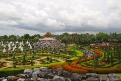 Schöner asiatischer Park Stockbilder