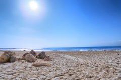 Schöner Bali-Strand lizenzfreie stockfotos