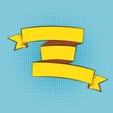 Schöner Band-Aufkleber im Knall Art Style Vector Illustration Lizenzfreie Stockfotografie