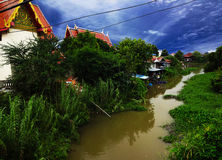 Schöner Bangkok-Tempel Lizenzfreie Stockfotos