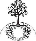 Schöner Baum der Kunst Lizenzfreies Stockbild