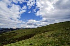 Schöner Bergblick Stockfoto