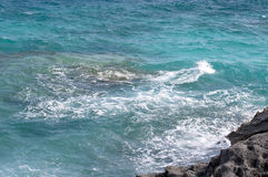 Schöner blauer Meerblick. Lizenzfreie Stockbilder