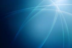 Schöner blauer Strahlnhintergrund lizenzfreie abbildung