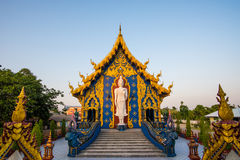 Schöner blauer Tempel Stockbild