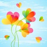 Schöner Blumenhintergrund. Lizenzfreies Stockfoto
