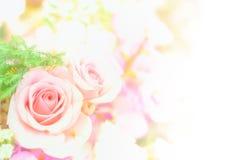 Schöner Blumenhintergrund/-tapete gemacht mit Farbfiltern Stockfotografie