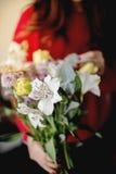 Schöner Blumenstrauß Stockfotos
