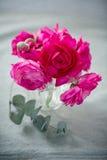 Schöner Blumenstrauß der Blumen Stockfoto