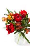 Schöner Blumenstrauß der Frühlingsblumen Lizenzfreies Stockfoto