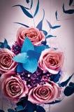 Schöner Blumenstrauß der Rosen lizenzfreie stockfotografie