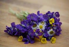 Schöner Blumenstrauß der wilden Blumen Lizenzfreie Stockfotografie