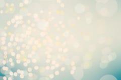 Schöner Bokeh-Hintergrund mit defocused Lichtern Undeutliches Abstrac Stockfotos
