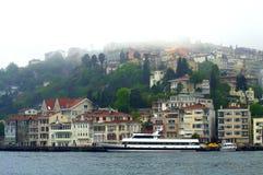 Schöner Bosphorus-Anblick Stockfoto