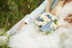 Schöner Brautblumenstrauß Lizenzfreies Stockbild