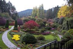 Schöner Buchart-Garten Lizenzfreies Stockbild