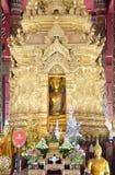 Schöner Buddha in Lampang stockbild