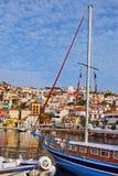 Hafen von Griechenland Stockbilder