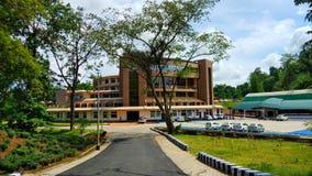 Schöner Campus von Don Bosco University Lizenzfreies Stockfoto