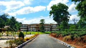 Schöner Campus von Don Bosco University Lizenzfreie Stockfotos