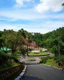 Schöner Campus von Don Bosco University Stockbilder