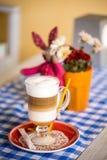 Schöner Cappuccino, Stockfotos