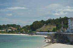 Schöner Cruceiro-Strand in Puerto Del Son Natur, Architektur, Geschichte, Straßen-Fotografie 19. August 2014 Porto tun Sohn, La lizenzfreies stockfoto
