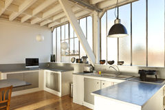 Schöner Dachboden Lizenzfreie Stockfotos