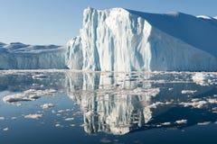 Schöner Eisberg Stockbild