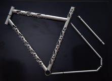 Schöner Fahrradrahmen lizenzfreies stockbild