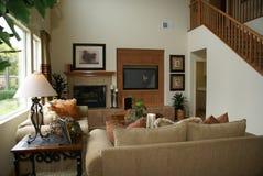 Schöner Familien-Raum Stockfotos