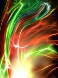 Schöner Feuerwerk Fractal vektor abbildung