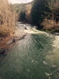 Schöner Fluss Lizenzfreie Stockbilder