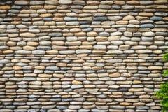 Schöner Fluss-Kiesel-Wand-Hintergrund Nahtloses Kieselsteinflorida Lizenzfreie Stockfotos