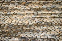 Schöner Fluss-Kiesel-Wand-Hintergrund Nahtloses Kieselsteinflorida Lizenzfreies Stockbild