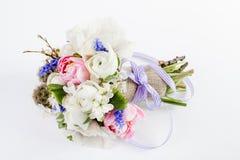 Schöner Frühlingsblumenstrauß Stockfotografie