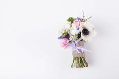 Schöner Frühlingsblumenstrauß für irgendwelche Gelegenheiten Stockfoto