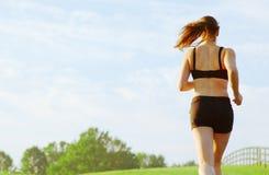 Schönheits-Läufer stockbilder