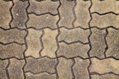 Schöner Fußbodenziegelstein Lizenzfreie Stockbilder