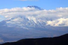 Schöner Fuji-Berg im Herbst Lizenzfreie Stockbilder