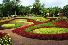 Schöner Garten Stockfotografie